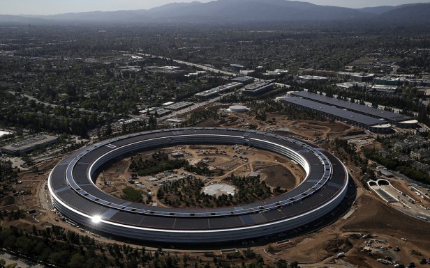 Apple's new headquarter