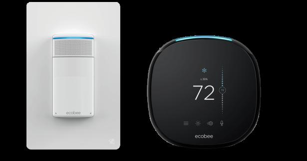 Ecobee switch with Ecobee 4 thermostat