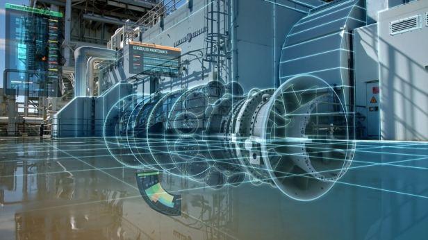 Digital twin turbine