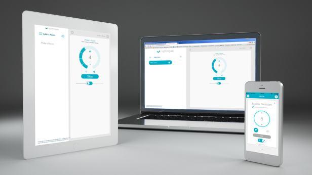 Nightingale smart sleep system app and website