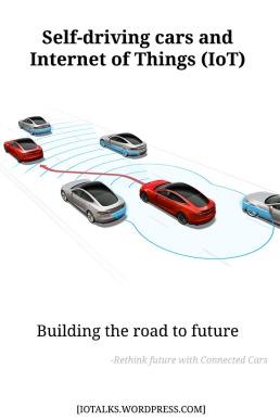 Self driving car technology pin