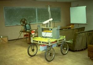 Stanford Cart: First self-driving car