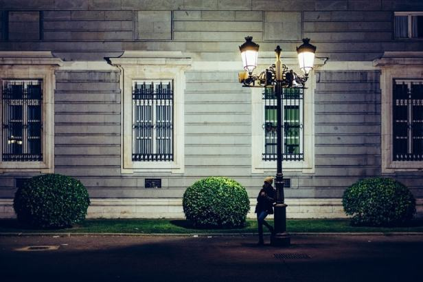 A smart street light